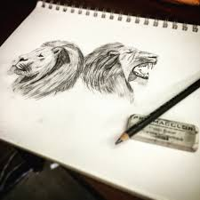 Drawingcolor Lions Drawing Sketching Pencil Color Art Fading Shading