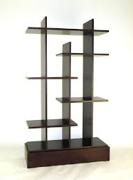 ... Wall Mounted Cube Shelving Units Antique Design Varnished Furniture  Large Square Dark Brown Stayed Rack Strong ...