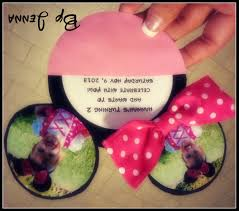Pink And Black Minnie Mouse Decorations Doc Party Invite Maker Free Party Invitation Maker