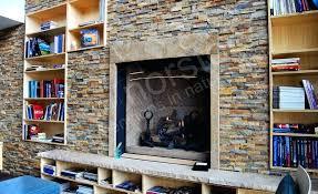 stone facade fireplace inspiration for veneer fireplaces facades interiorore diy outdoor