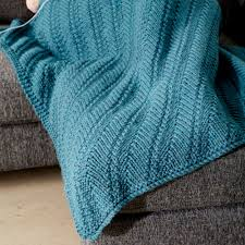 Knitted Lap Blanket Pattern