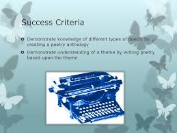 Success Criteria Demonstrate Knowledge Of