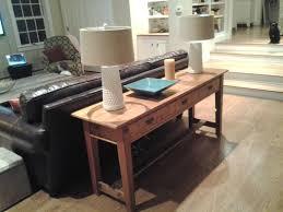 sofa table ideas. Recent Sofa Table Behind Couch Ideas