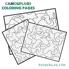 why the camouflage coloring pages printable is fun