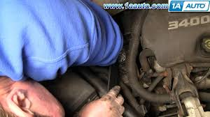 how to install replace engine serpentine belt chevy venture how to install replace engine serpentine belt chevy venture montana 3 4l 97 98 1aauto com