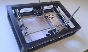 blacksmith is a diy 3d printer derived from i2 prusa mendel power module wires and electronics are in the bottom frame it looks mighty and sy