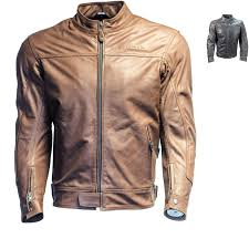 richa cafe leather motorcycle jacket