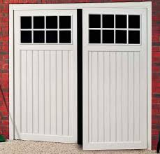 Stylish Single Garage Doors With Windows with Abs Side Hinged Garage