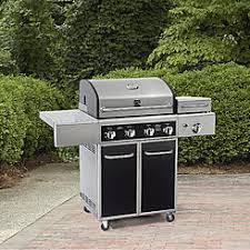 kenmore bbq grill. kenmore 4 burner gas grill with side steamer bbq
