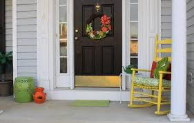 green front doorWhat Does the Color of Your Front Door Say About You  Porch Advice