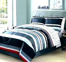 rugby stripe bedding gray red and white quilt pattern navy