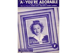 A Youre Adorable (The Alphabet Song) - Featuring Ivy Benson only £9.00