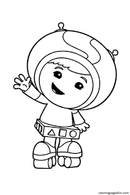 Small Picture Free Printable Team Umizoomi Coloring Pages For Kids Within esonme