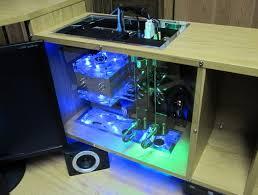 custom computer desk build