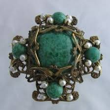 miriam haskell hess aqua gl beads lariat necklace 1940 1 280 00 aqua gl aqua and miriam haskell