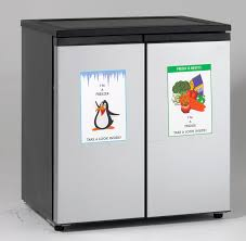 compact side by side refrigerator.  Side SIDEBYSIDE RefrigeratorFreezer On Compact Side By Refrigerator 1