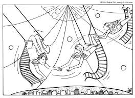 Small Picture Trapeze artists coloring pages Hellokidscom