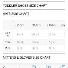 Gap Gloves Size Chart Gap Junk Food Batman Hat