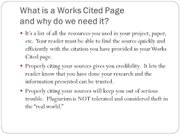 How To List Works Cited Work Cited List Mla Under Fontanacountryinn Com