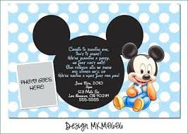 Mickey Mouse Party Printables Free Mickey Mouse Party Invitations Best Baby Mickey Party Ideas Images