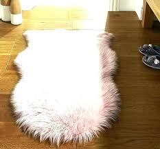 faux sheepskin rug pink fur rugs modern light throw blanket white she safavieh cleaning hand woven