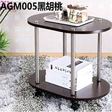 wooden bedside table modern wood bedside table sofa side coffee table mobile oval tea wooden bedside tables australia