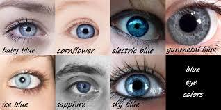 Eye Colors Eye Color Chart Blue Eye Color Writing