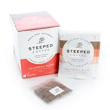 Just add hot water and steep for five minutes. Steeped Coffee Earns Best New Product Award Santa Cruz Sentinel