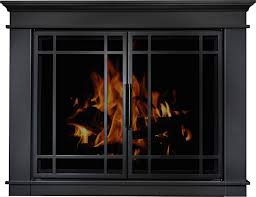 glass door for fireplace. Arched Glass Fireplace Doors Fireplace: Door For | Home Depot