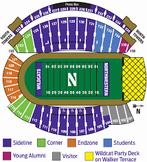 Ryan Field Seating Chart Ryan Field Northwesterns Stadium Huskermax