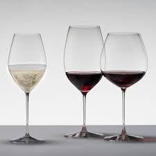 riedel veritas new world pinot noir nebbiolo rosé chagne set of 2