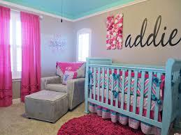 chevron baby girl bedding design