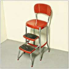 cosco yellow retro counter chair step stool chairs