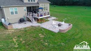 family need a deck or patio before summer