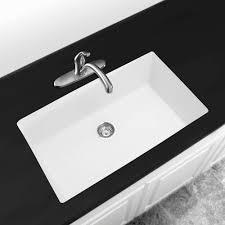 kitchen white sink undermount together finest cast