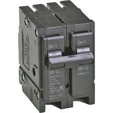 cutler hammer electrical circuit breakers fuse boxes eaton corporation br250 double pole interchangeable circuit breaker 120 240v 50 amp