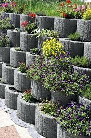 block retaining wall ideas cinder block planter wall for you retaining wall ideas cinder block retaining