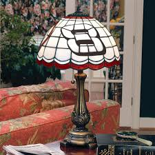 licensed tiffany style table lamp dale earnhardt jr