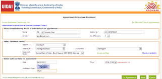 Card Aadhar Free Apply To How Online Registration