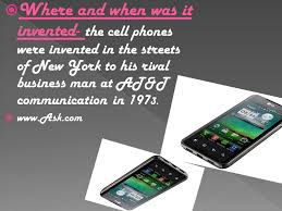 When Was The Cell Phone Invented Who Invented Cell Phones The Cell Phones Were Invented By Martin
