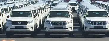 2018 toyota prado interior.  interior jdmspec 2018 toyota land cruiser prado dealership yard spy shot with toyota prado interior
