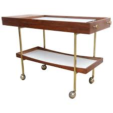 mid century modern cool paul mccobb bar cart server at 1stdibs mid century modern cool paul mccobb bar cart server 1