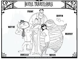 hotel transylvania coloring pages hotel hotel transylvania 2 coloring pages printable hotel transylvania