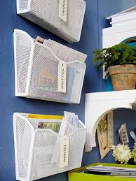 home office wall organization systems. install hanging magazine holders on the wall to organize mail and other documents in a quick home office organization systems