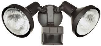Dual Brite Motion Sensor Light Twin Security Lighting Heath Zenith Sl 5318 Outdoor