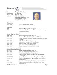 Resume Soccer Coach Resume Example Assistant Soccer Coach Resume Inspiration Soccer Coach Resume