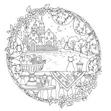 A Fantasy Coloring Book By Eriy