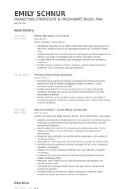 Marketing Consultant Resume Examples - April.onthemarch.co