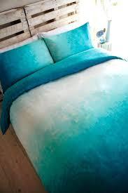 turquoise duvet cover king aqua serene super at bedeck home size full size