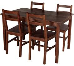 dark wood dining room furniture. home raye solid wood dining table u0026 4 chairs dark pine room furniture t